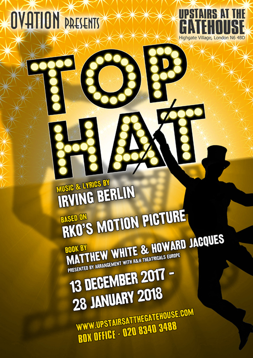 top hat poster small